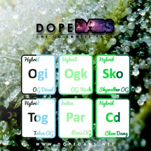 Dope Dabs Cannabis Strain Specific Terpene Profile Sample Pack The OG